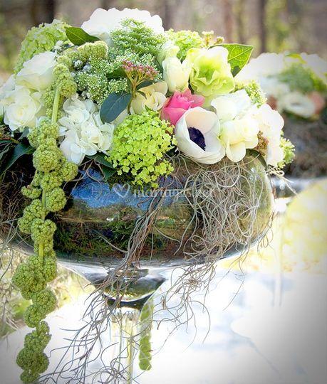 Buffet fleurs