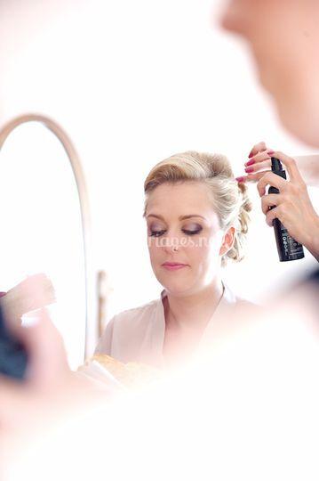 Chignon&make-up