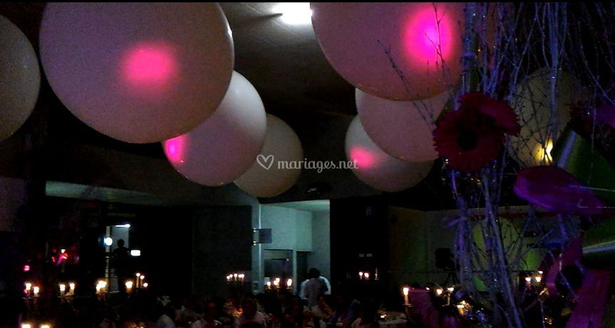 Ambiance ballons géants
