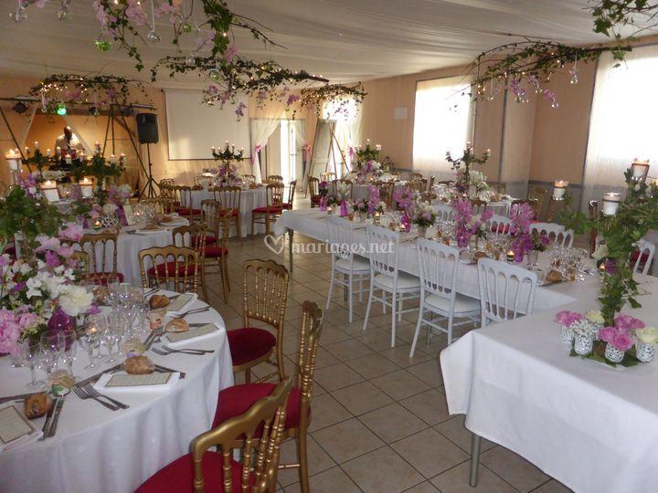 Mariage salle des fêtes