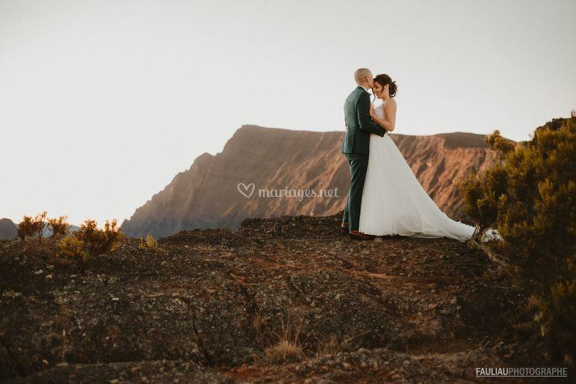 Panorama couple