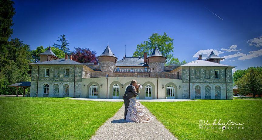 Couple dans château Servolex