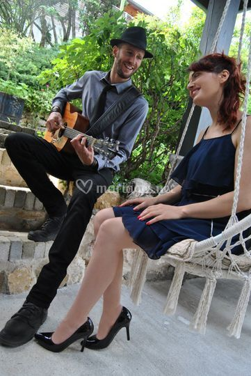 "Duo voix-guitare""Pop ta folk"""