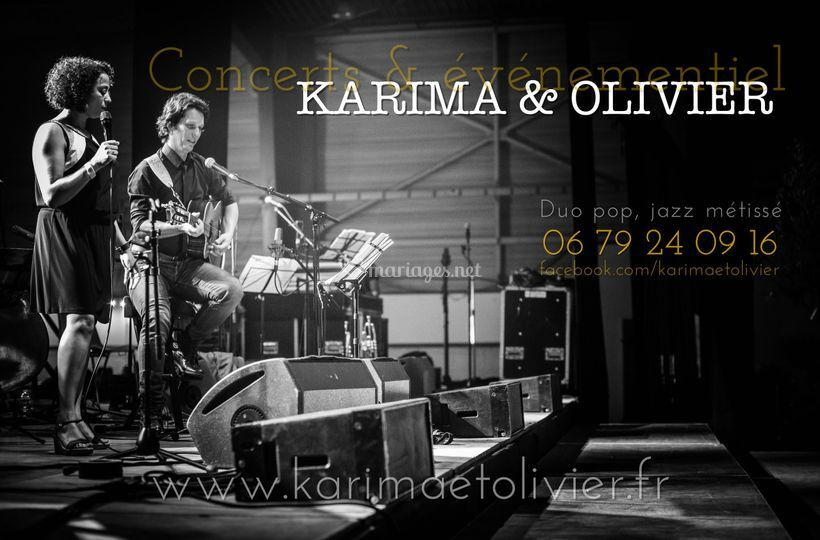 Karima & Olivier duo pop, jazz