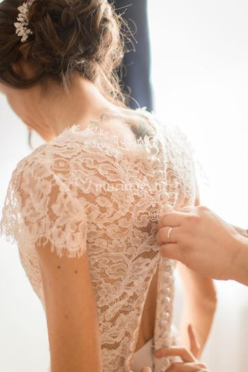 La robe de la mariée