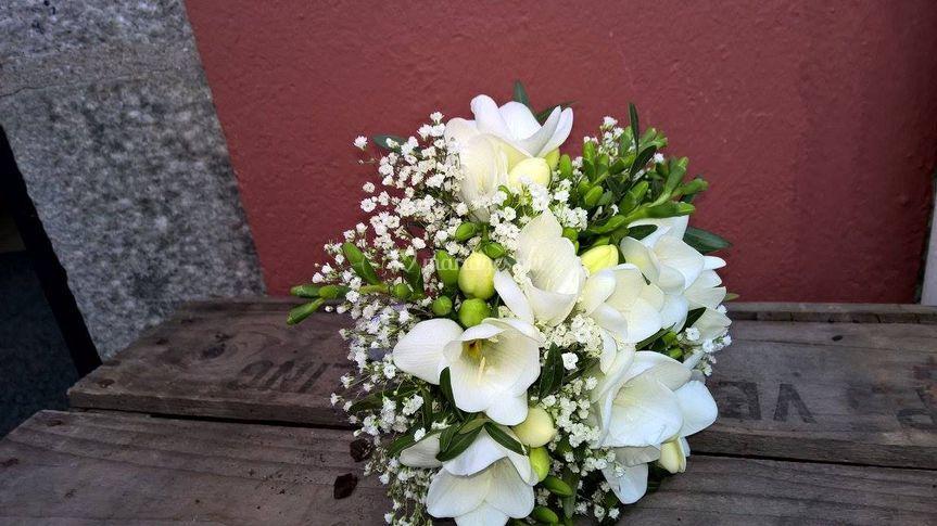Bouquet freesia