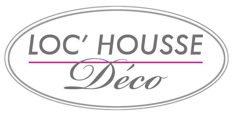 Logo LOC' HOUSSE-Déco