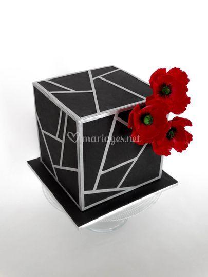 Wedding cake grahique
