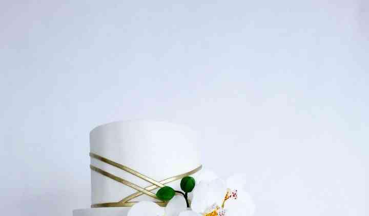 Wedding cake été