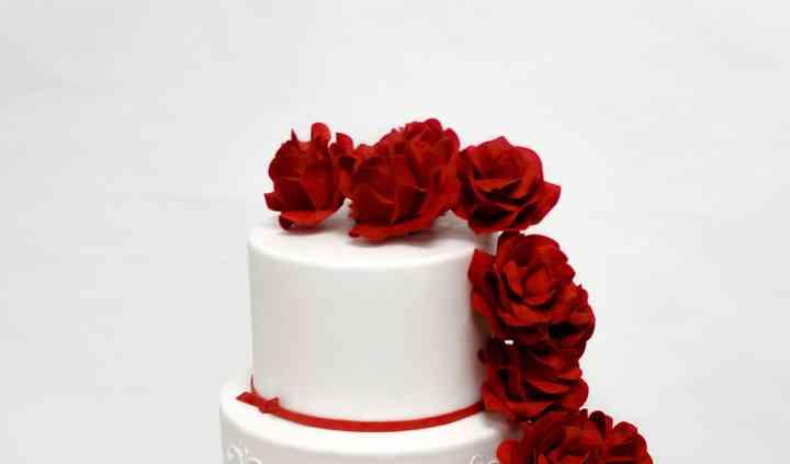 Wedding cake amour