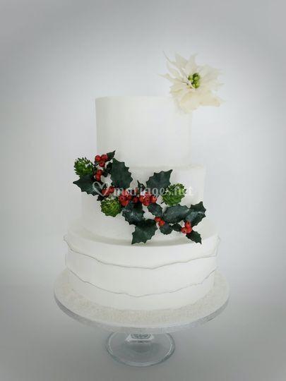 Wedding cake hivernal