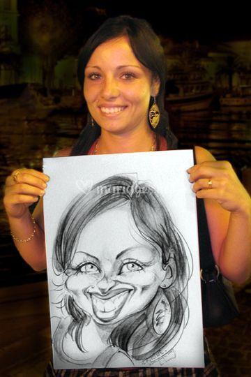 Caricature femme
