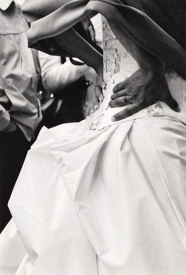 Une mariée impatiente