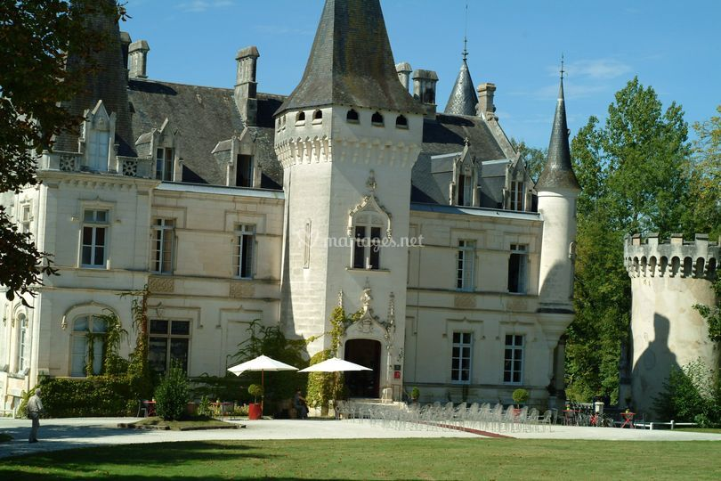 Mariage au château de Nieuil