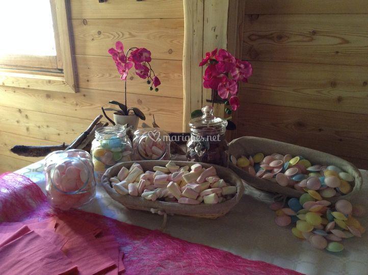 Buffet enfant, bonbons