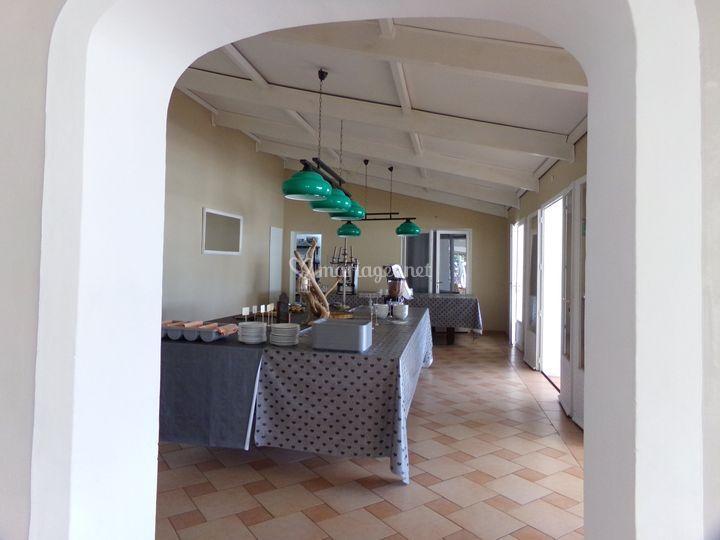 Salle intérieur