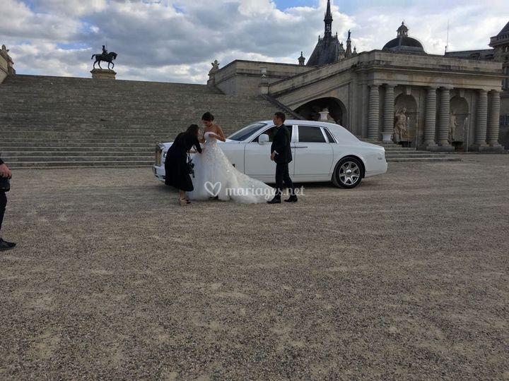 Mariage VIP au Chantilly
