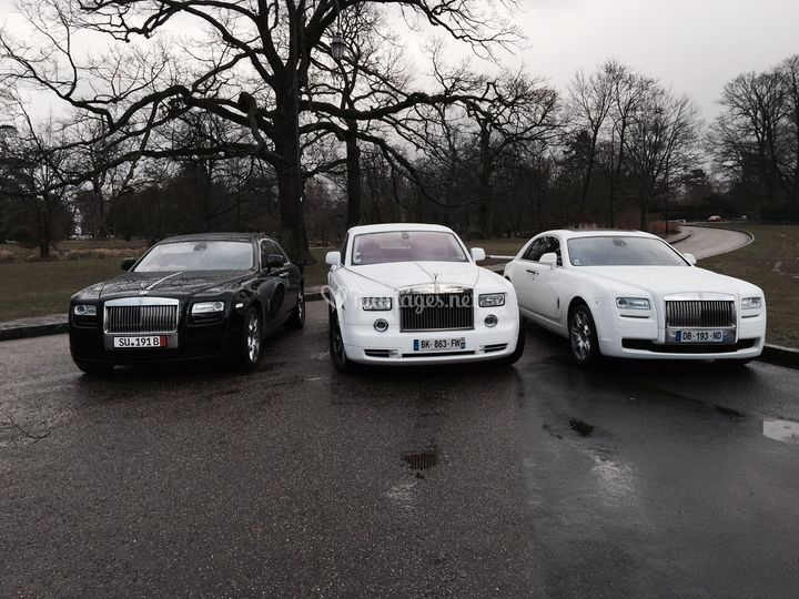 Rolls Phantom et Rolls ghost