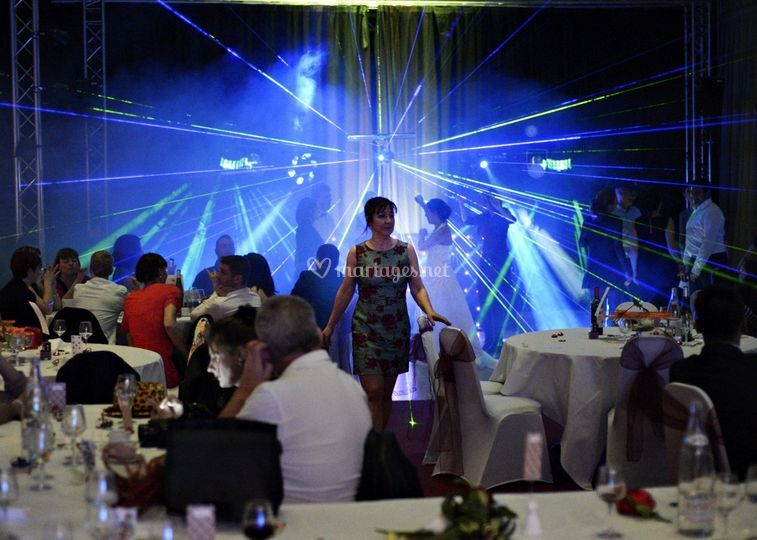 Mariage au Casino de Royat