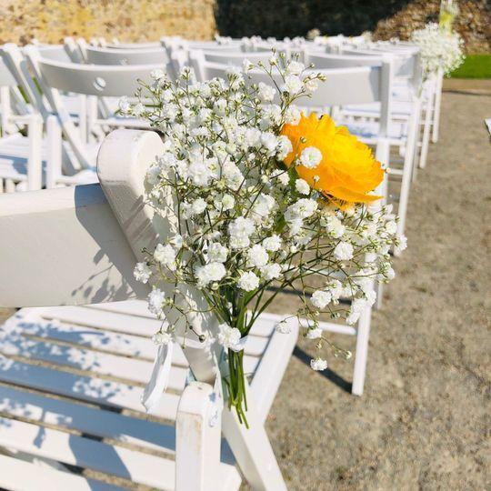 Mariage A&S -Déco fleurs