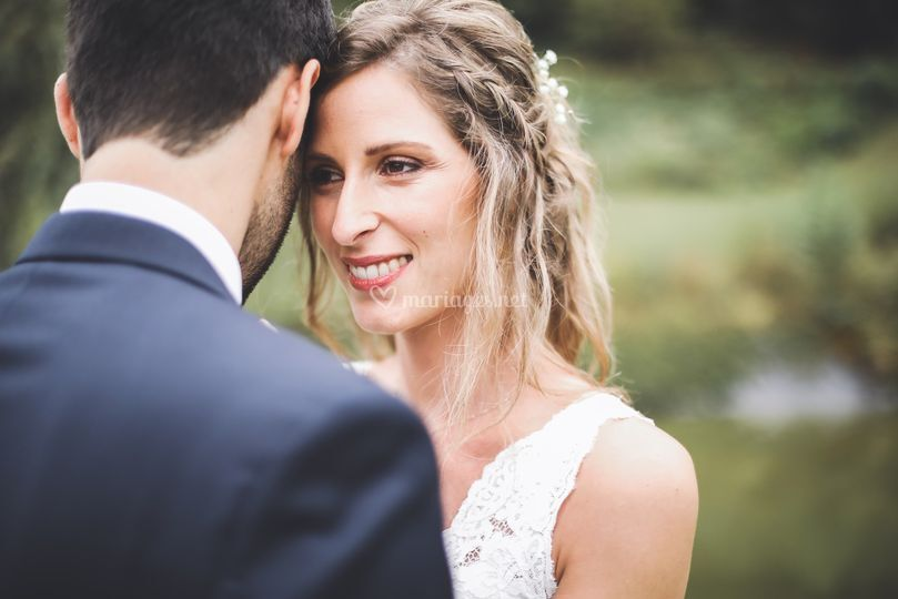 Mariée à Uzein