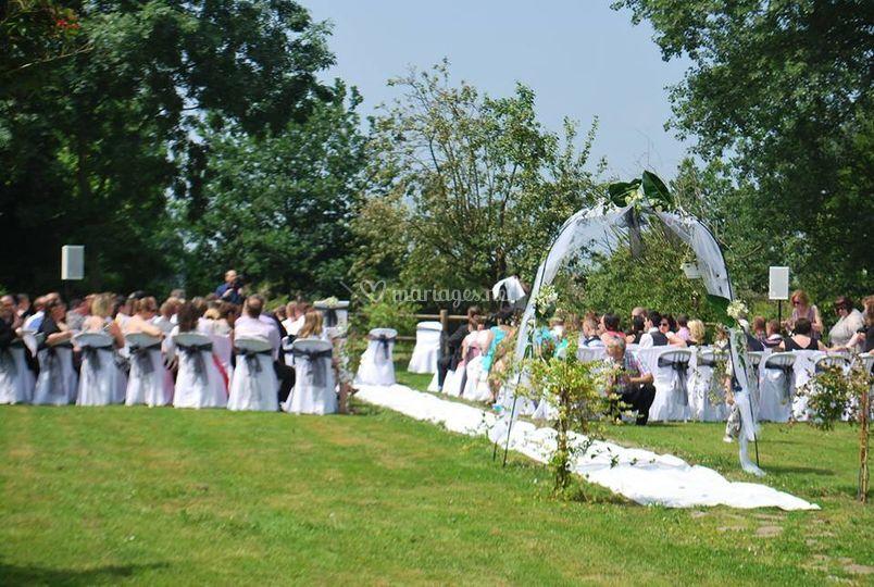Prestation cérémonie laïque