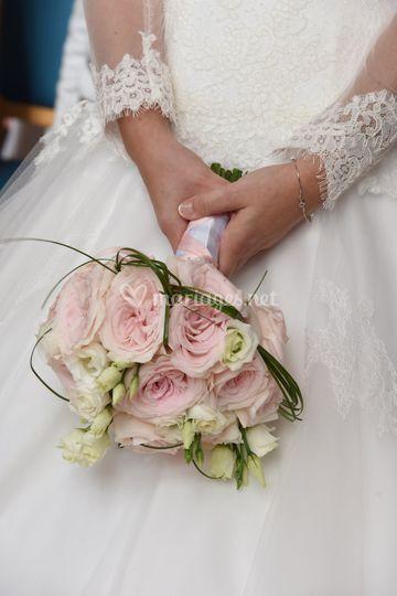 Un bouquet de mariée