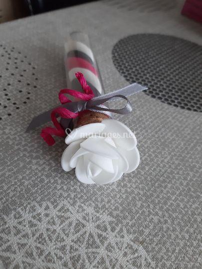 Rose fiole