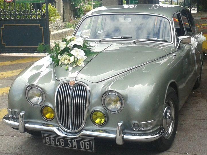 Location Jaguar type s 3.4l
