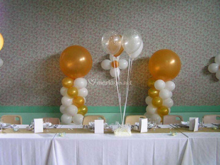 Deco ballon mariage
