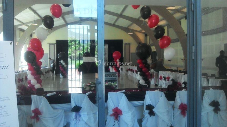 Arche de Ballons hélium