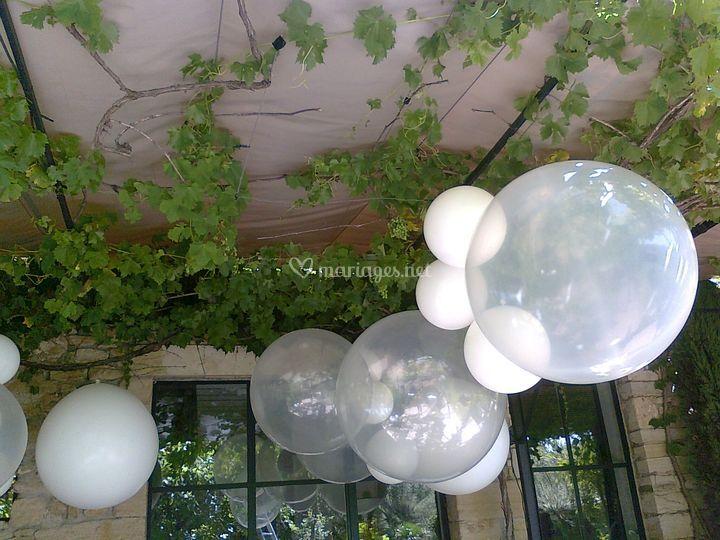 Mariage ballons