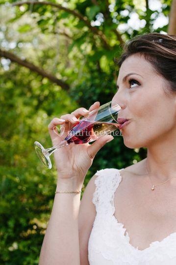 Décoration champagne