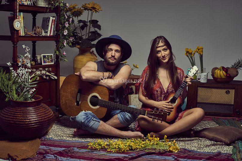 "Uku & Lily ""Hippie chic"""