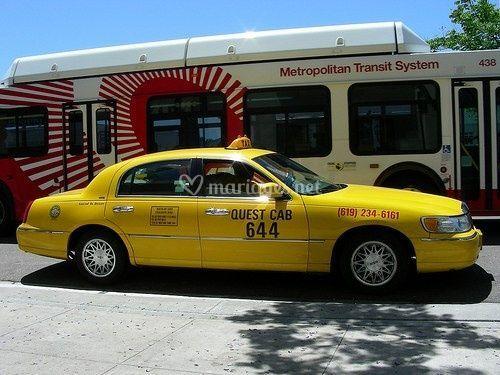 Yellow cab Metz, Nancy