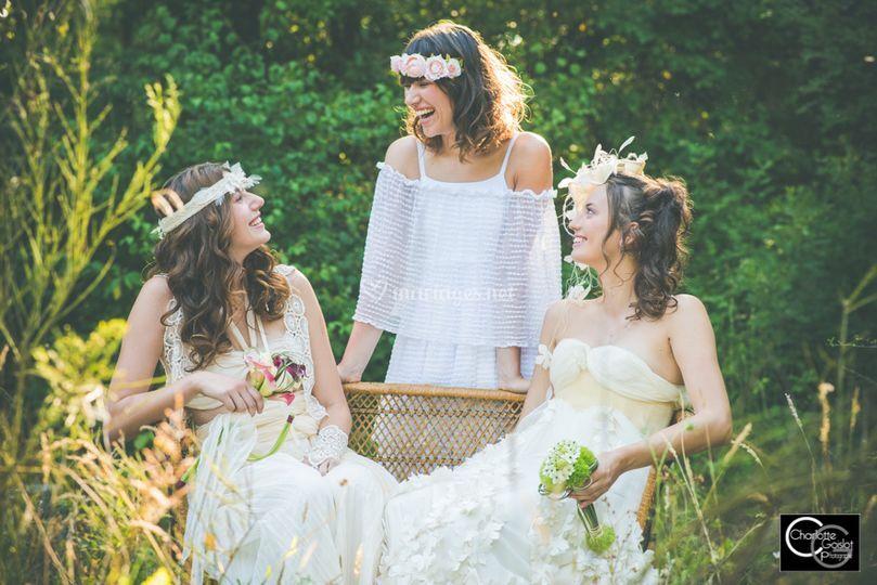 Trio de mariées LBA