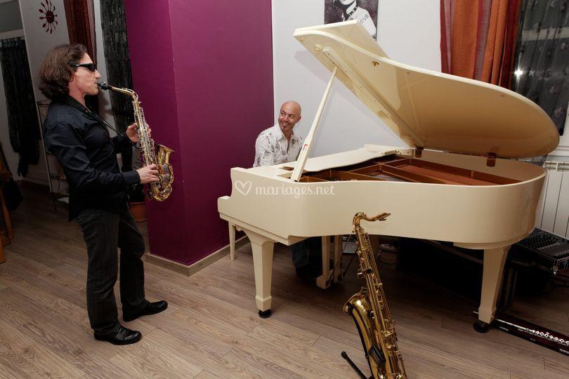 Duo piano/sax répet