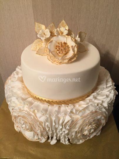 Gâteau de mariage sur mesure