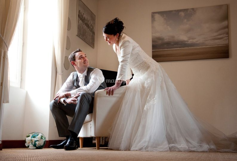 Mariés en intérieur ( Nantes)
