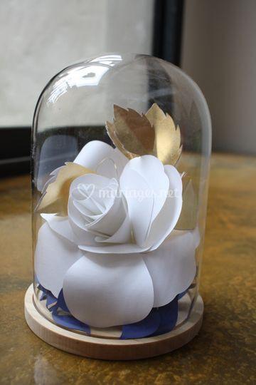 Fleur sous cloche