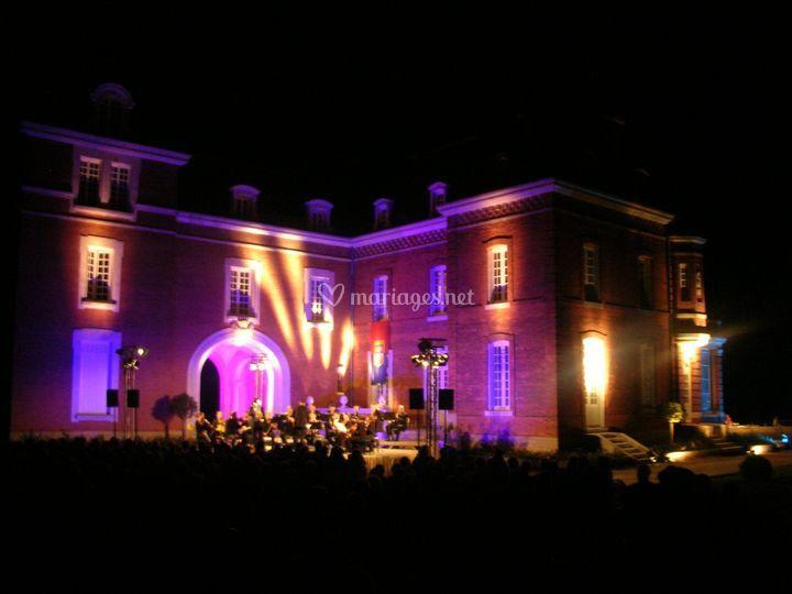 Concert au Château des Creuset