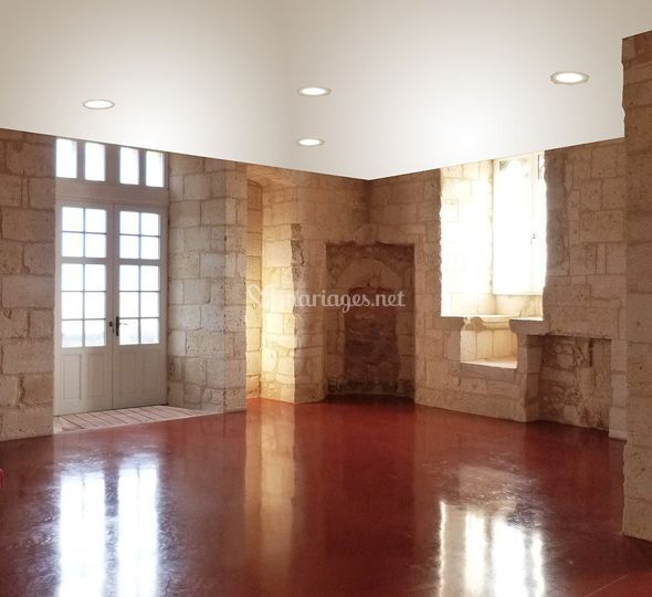 1er étage: Salle du trône