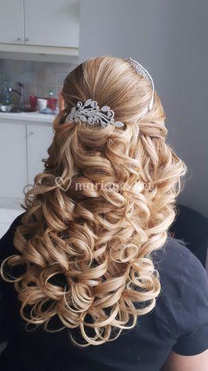 Haute coiffure mariée