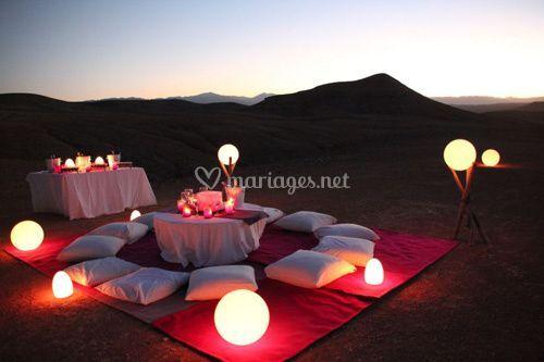 Mariage dans le désert