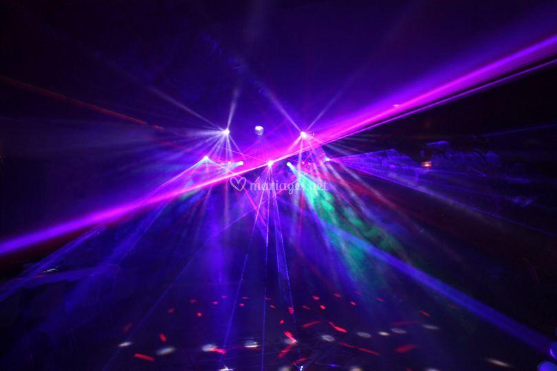 Eclairage disco