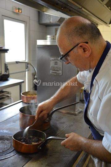 Le Chef Eric COSTEDOAT
