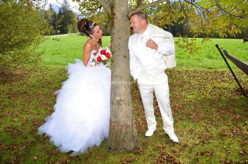 Mariage à Sallanche
