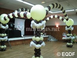 Mariage chocolat et ivoire