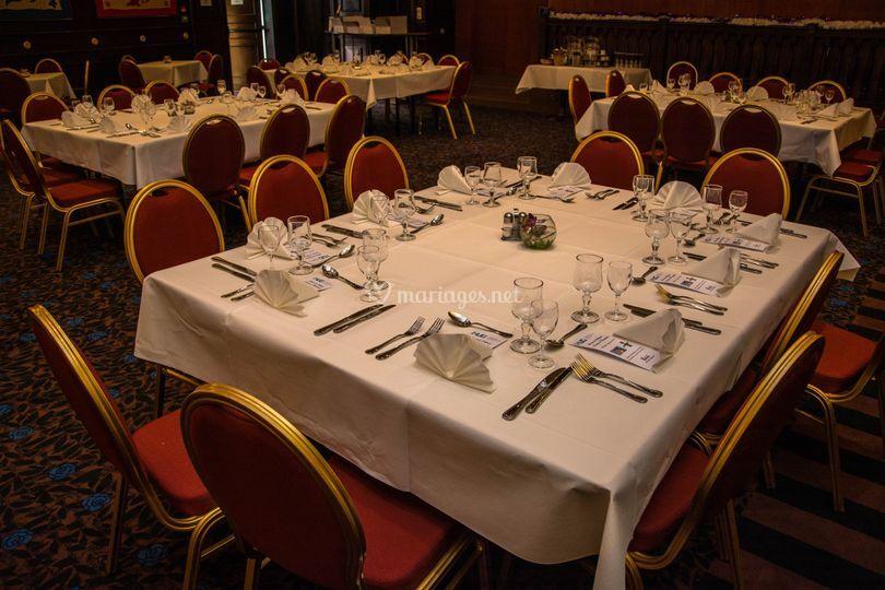 Table des convives