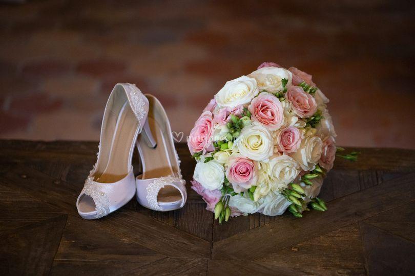 Petits détails de la mariée